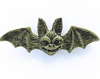 Metal Cold Cast Bat Magnet
