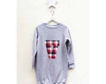 Sweatshirt dress woman
