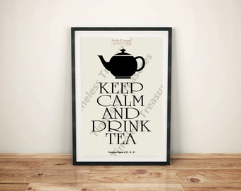 Kitchen (F) - Keep Calm and Drink Tea