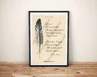 Motivational (K) - Anita Sams - Let Me Be as a Feather