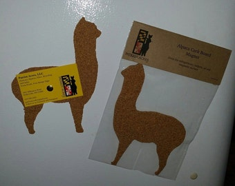 Magnetic Alpaca Corkboard