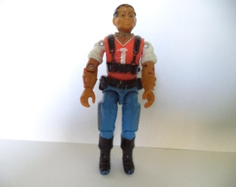 Vintage 1987 Hasbro GI Joe Action Figure - Red Dog V1 3.75""