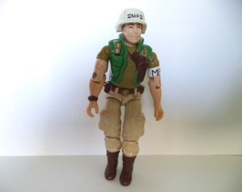 "Vintage 1990 Hasbro GI Joe Action Figure - Law V2 3.75"" (Loose Legs)"