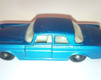 Vintage Lesney Matchbox Diecast Car : No. 46 Mercedes Benz 300 SE Coupe 1968 Excellent Condition Made In England