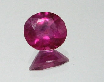 Natural  unheated untreated ruby 1.18 ct