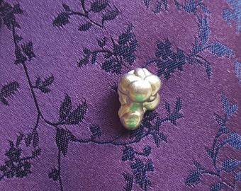 Tie tack, Sterling Silver tie pin / tie tack / lapel pin / silver tie tack / collar pin / brooch