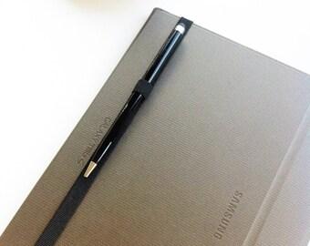 planner pen holder, journal pen holder, planner band, pen holder, stylus holder, pen loop, tablet pen holder, elastic band, erin condren