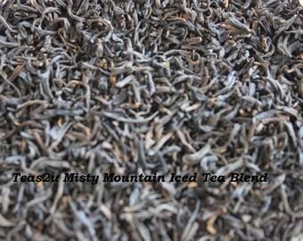 Teas2u Misty Mountain Black Loose Leaf Iced Tea Blend