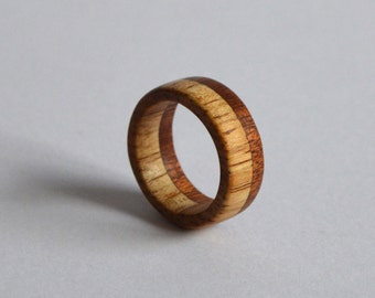 Rubberwood and Honduran Mahogany Accent Band