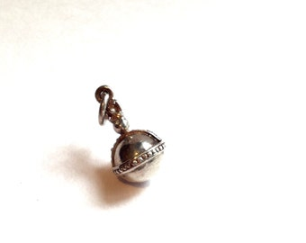 silver royal orb charm