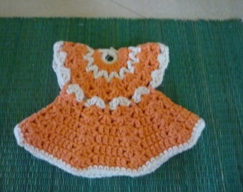 Fench doll knitting dress from 1970's