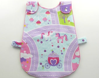 PDF Pinafore / Smock Style Toddler Bib Pattern and Tutorial