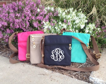 Monogram Crossbody ~ monogram purse ~ monogram hipster ~ fanny pack