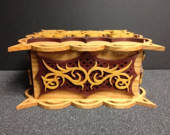 Scroll Sawn Jewelry Box