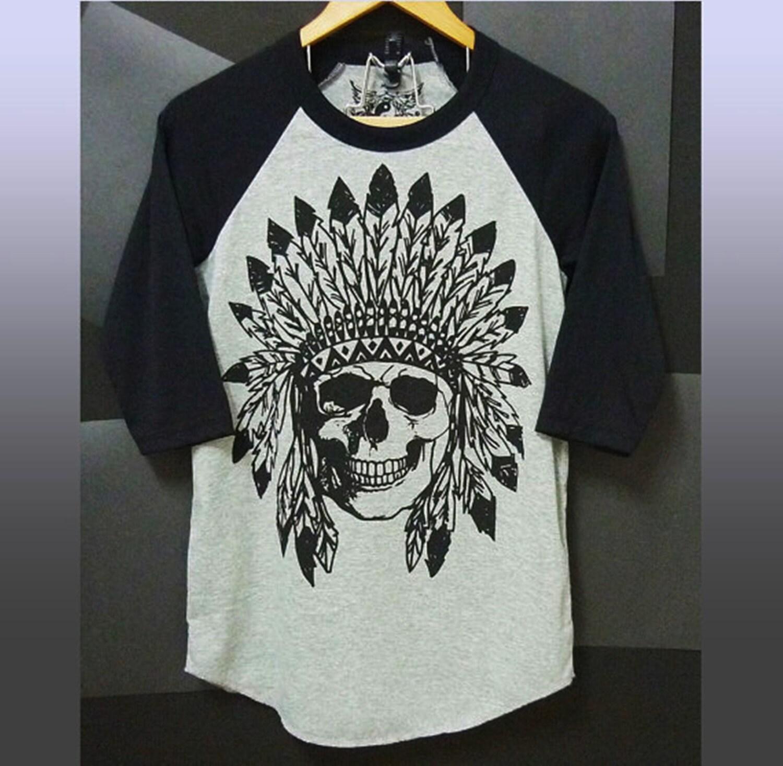 Black t shirt skull -  Zoom