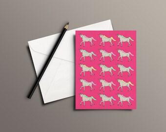 Unicorns Everywhere! | Greetings Card