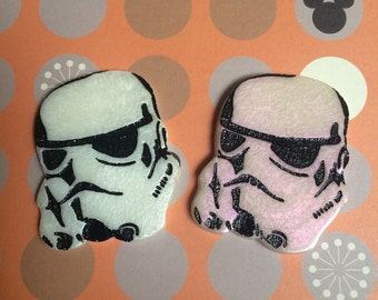 Stormtrooper Brooch