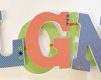 Custom Nursery Letters, Nursery Decor