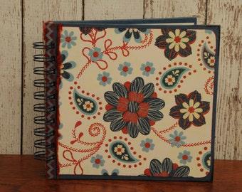 Patriotic Garden- Altered Book, Journal, Junk Journal