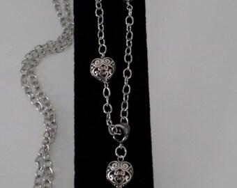 Five Heart Necklaces
