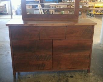 Dresser - Walnut with clear finish