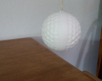 Ceramic Plain Golf Ball Ornment (#507)