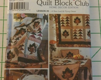 Simplicity Quilting Pattern 7035
