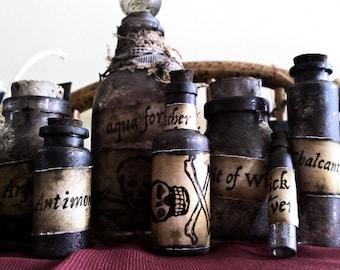 Alchemy Bottle Set