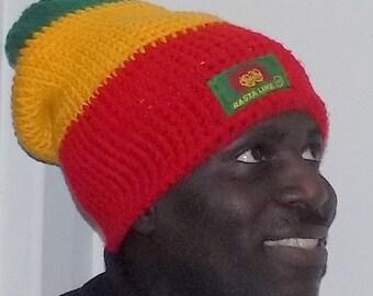 RASTA SLOUCHY HAT