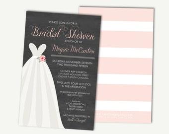 Bridal Shower Invitation Digital Download - Sweetheart