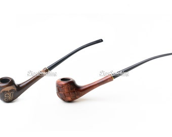 Tobacco pipe, Tobacco smoking pipe, Unique smoking pipe, Slim cigarettes, Pipes for women, Exclusive, Slim holders