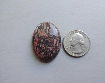 Leopard Skin Jasper oval cabochon 35x25 mm