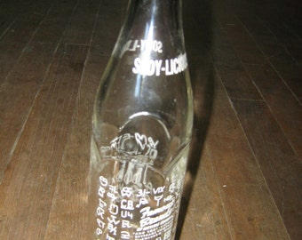 1953 Sody-Licious Beverage Bottle 10 oz.