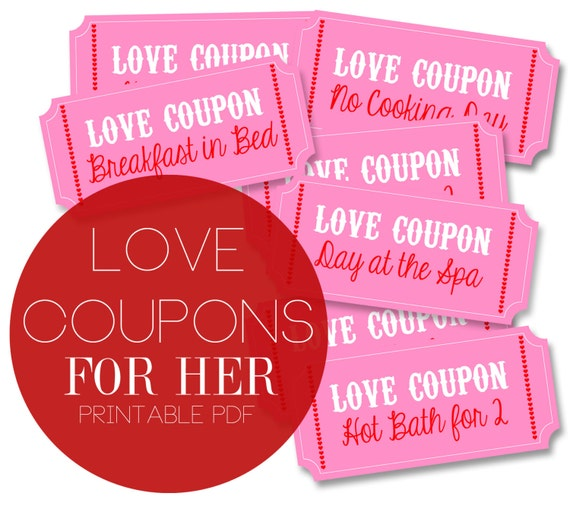 Love coupons for her printable
