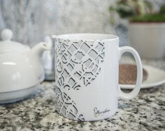 Mosaic Plate Mug
