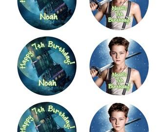 Pan Movie /  Pan Movie Cupcake Toppers / Pan Movie 2015 / Pan Tags / Pan Toppers