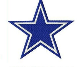 Dallas Cowboys Embroidery - 5 sizes!