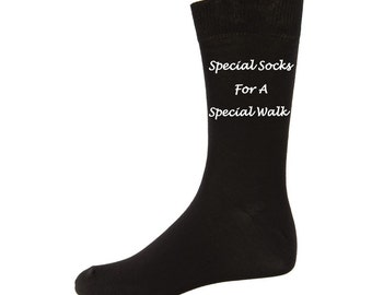 Personalized wedding SOCKS Special Socks for a special walk