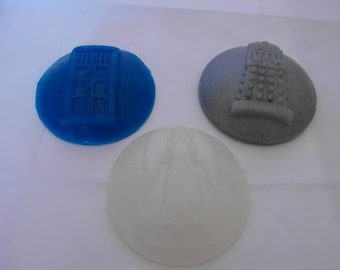 Large Round Dr Who Soaps