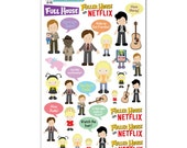 Full House Stickers - Fuller House on Netflix Stickers