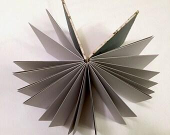 Hand bound writing journal