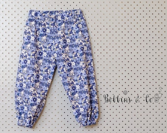 Floral Baby Girl Harem Pants || Baby Girl Pants || Baby Clothing || Baby Harems || Toddler Harems || SIZE 00