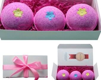 Suezbana Ifeme Bath Bomb Little Pink Gift Set