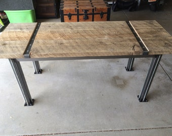 Thin industrial table