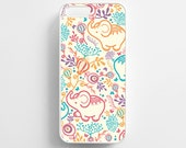Elephant Pattern iPhone 6 Case iPhone 6s Case iPhone 6 Plus Case iPhone 6s Plus Case iPhone 5s Case iPhone 5 Case Elephant iPhone 5c Case