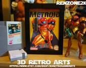 Metroid - Nintendo NES - Retro 3D Game Arts - Series 5 Collection - Retro Art 2 featured image