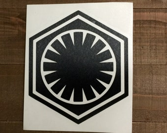 Star Wars Stormtrooper First Order Decal