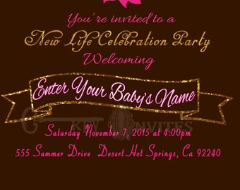New Life Baby Shower