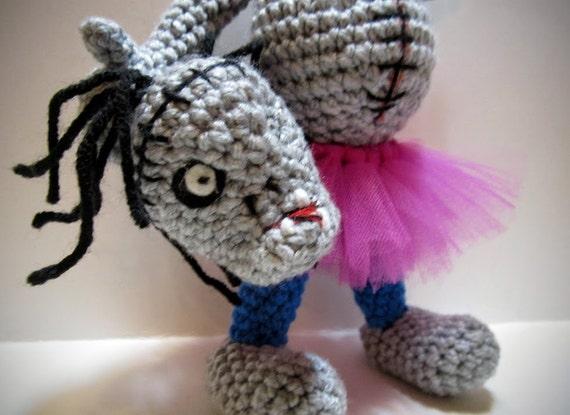 TuTu Zombie Amigurumi Headless Zombie Doll OOAK by ...