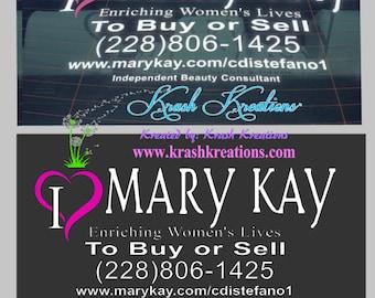 I heart Mary Kay decal, #1